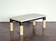 Assembly_UnionTable #wood #furniture #table #marble