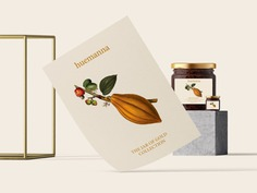 Huemanna - Jar of Gold Packaging - Mindsparkle Mag Monograph&Co. designed the new packaging design for Huemanna – The Jar of Gold Collection which is a series of Activated Nut Butters made from stone ground natural ingredients that help nourish the body and soul. #packaging #logo #identity #branding #design #color #photography #graphic #design #gallery #blog #project #mindsparkle #mag #beautiful #portfolio #designer