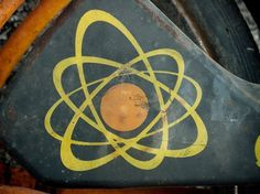 All sizes | Science. | Flickr - Photo Sharing! #mark #color #retro #book #two #vintage #chemistry #emblem #atom #science