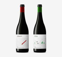 Finca de la Rica Packaging, by Dorian #inspiration #creative #packaging #design #graphic #wine