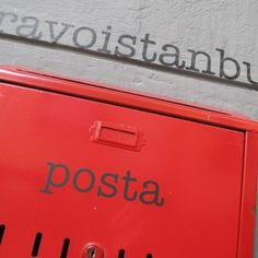 Bravo Istanbul, design agency #istanbul #logotype #posta #red