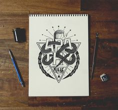 by Nathan yoder #lettering #sketch #typography
