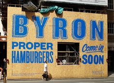 Charlie Smith Design — Byron Signage #dd
