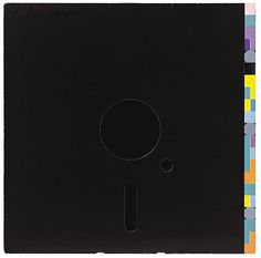 "Peter Saville's New Order ""Blue Monday"" sleeve #album #saville #floppy #classic #cover #order #disc #new"