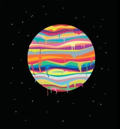Illustration : Joevw #illustration #color #space