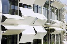 Dynamic façade – Kiefer technic showroom by Ernst Giselbrecht + Partner (AT) @ Dailytonic #architecture