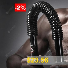 Power #Twister #Double #Spring #Carbon #Steel #Twister #Body #Exercise #Fitness #Equipment #- #BLACK