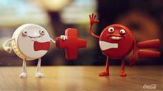 Coca-Cola Little Dudes #cartooning #animation #dudes #advertising #coca #little #conti #cola #pedro