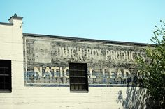 Fading Ad Blog #mural #painting