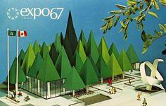 WANKEN - The Blog of Shelby White » Expo 67 + Designspiration #expo #world #fair #1960s #67 #vintage #exposition
