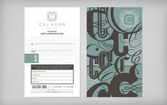 Graphic-ExchanGE - a selection of graphic projects #gift certificate