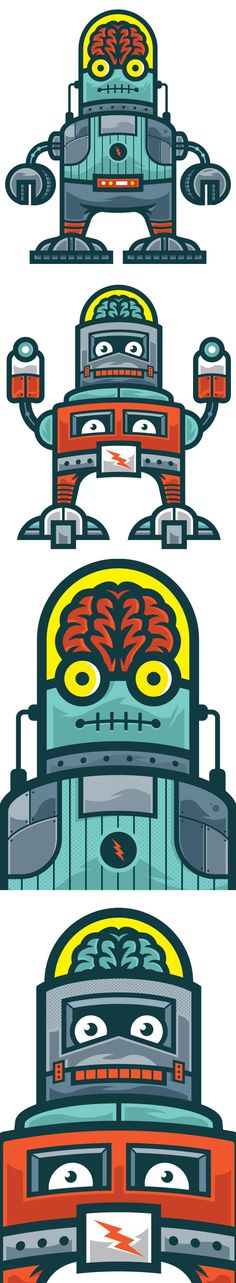 BrainBot Kids Danger Brain #robots
