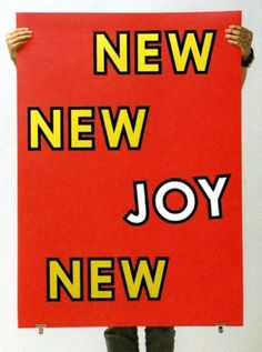 Jeremy Jansen #joy #typo #poster