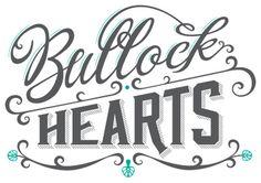 MarkusWreland_BullockHearts_Logo1 #logo #logotype #typography