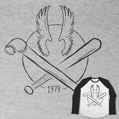 A Warriors inspired baseball tee. #warriors #baseball