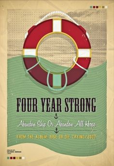 All sizes | four year strong | Flickr - Photo Sharing! #illustration #gig #poster