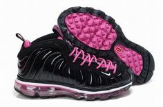 2012 new nike air foamposite One Max 2009 black/pink women's #shoes