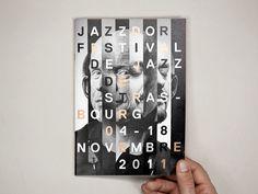 #jazz #door #jazzdoor #festival #november #monochrome #poster #postcard