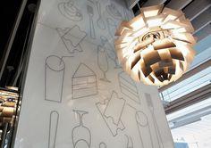 Best Awards - Alt Group. / Box Café #interior #signage #dots #icons
