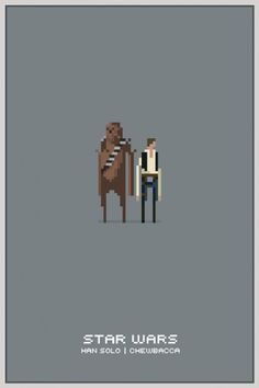 Star Wars Pixel Posters #wars #star