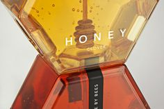 lovely package hexagon honey 4 #gold #wood #hexagon #honey