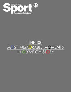 NAS CAPAS: OLYMPIC COVERS VII #olympics