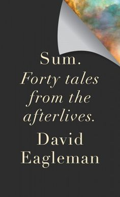 Sum: Forty Tales from the Afterlives #cover #editorial #book