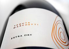 Tenuta Marchetti Franciacorta Wine label Design