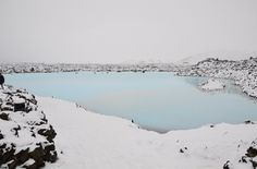 All sizes | Blue Lagoon Photo | Flickr - Photo Sharing! #blue #white #snow #landscapes