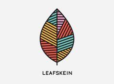 mkn design Michael Nÿkamp #line #leaf #color #illustration #gray #skein