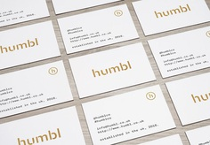 Humbl was created in 2016 as a self-funded project with a desire to appreciate subtlety and finer details. Drawing inspiration from various sub-cultures, Humbl Clothing Co. pays special attention to the comfort and quality of each product. Dimitrije Mikovic designed its minimal brand identity and logomark. For more information and more of the most beautiful designs, go to mindsparklemag.com