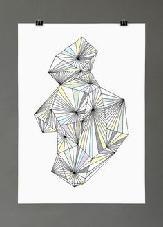 Maria Fischer · Portfolio · Illustration #pattern #geometric #poster