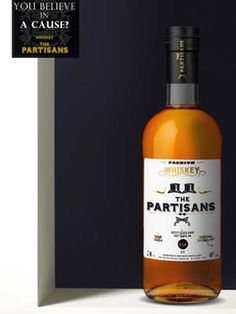 WHISKEY THE PARTISAN. BRAND AND PACK DESIGN#WHISKEY#PACKAGING