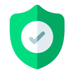 See more icon inspiration related to shield, check, lock, safe, locker, wellness, ui, multimedia, guarantee, miscellaneous, protected, quality, safety, protection, security and technology on Flaticon.