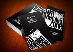 Random Business Card Designs on the Behance Network #business #branding #card #gaming #cards #typography