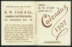 B. W. Fase & Co. - SMP Silver Salon Forums #vintage #advertising
