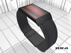 Terminal Sci fi LED Watch #tech #amazing #modern #innovation #design #futuristic #gadget #ideas #craft #illustration #industrial #concept #art #cool