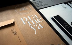 Prameya identity by Sciencewerk #design #texture #flocking #identity #package