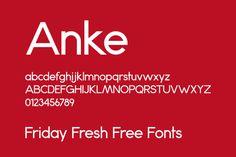 Friday Fresh Free Fonts #font #free #freebie #type #typography