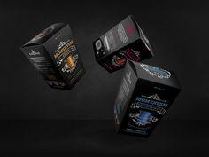 Momentum. By Grantipo. #packaging #design #black #brand