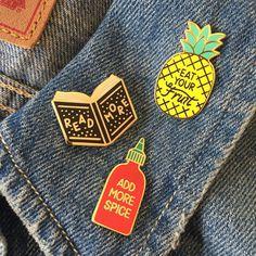Spillette #pins #fashion