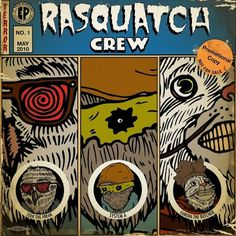 Rasquatch | Multimedia Comics: Opitical Remedy for Land Monsters #rasquatch #zeque #book #comic #illustration #maintain #penya