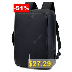 Business #Backpack #17 #inch #Laptop #Anti-theft #Bag #- #BLACK