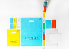 Tygverket on the Behance Network #bag #colors #identity