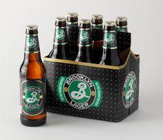 Brookyn Beer #packaging