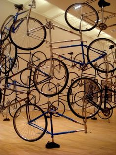 eyeone | seeking heaven #bicycle #installation #wei #tokyo #ai #transportation