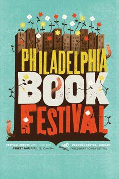 FLP - Philadelphia Book Festival #burton #mike #poster