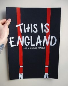 This is England #movie #design #graphic #poster