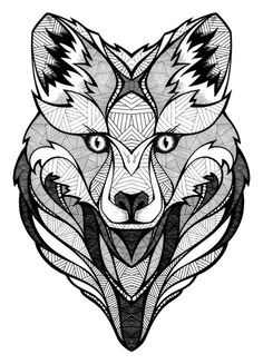 Burton // BYVM Contest #illustration #wolf