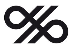 Crosskey designed by Kurppa Hosk #logo #symmetry #mark #lines #finland #thick lines